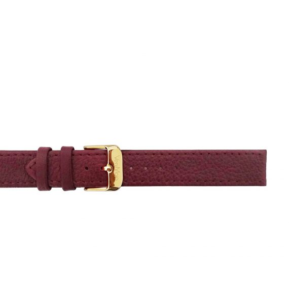 Leather strap - Burgundy
